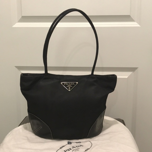 3d974cc3ad2d Prada Bags | Tessuto Nylon Bag With Cardsduster | Poshmark